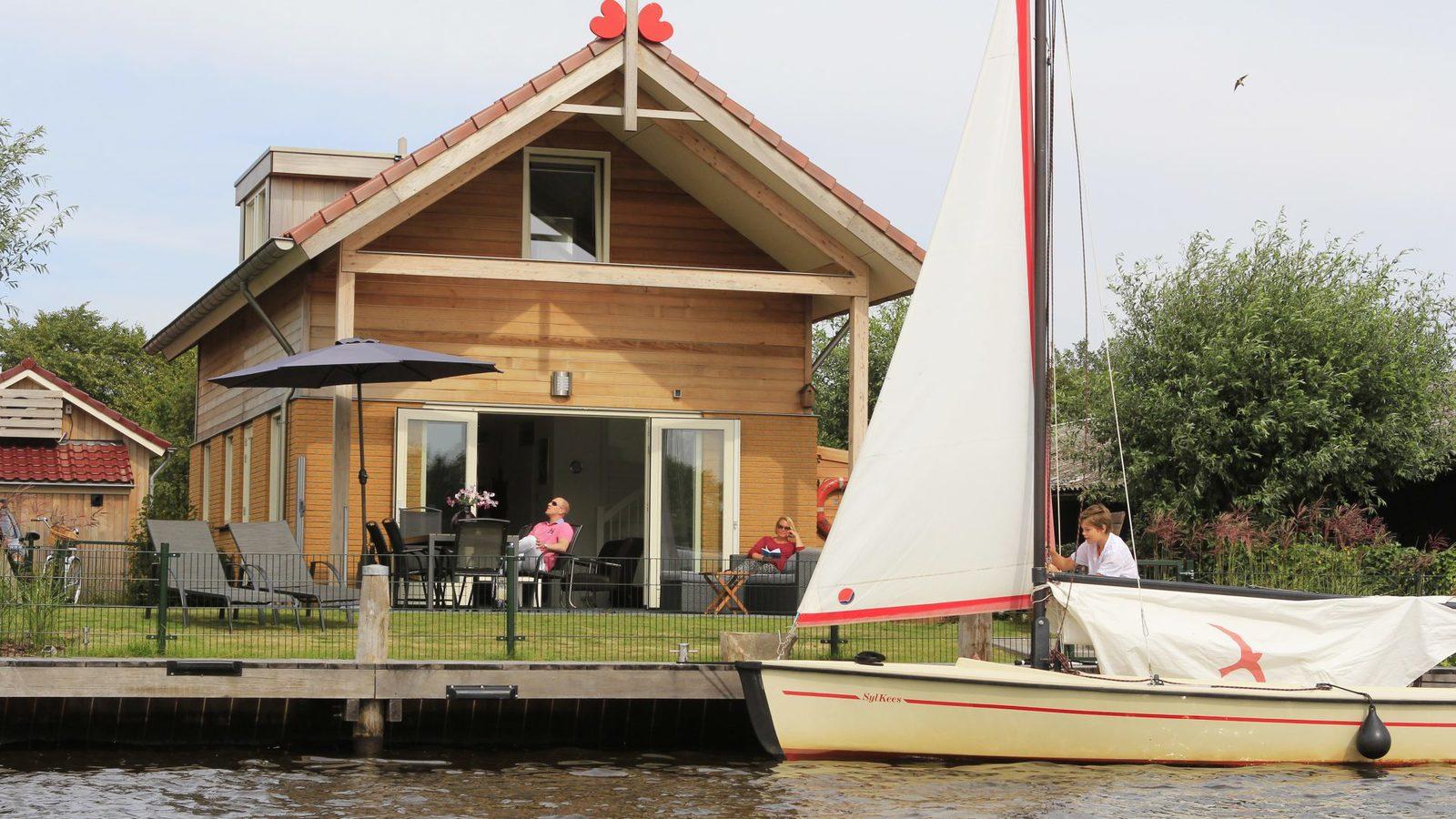 Vakantiehuis Friese meren