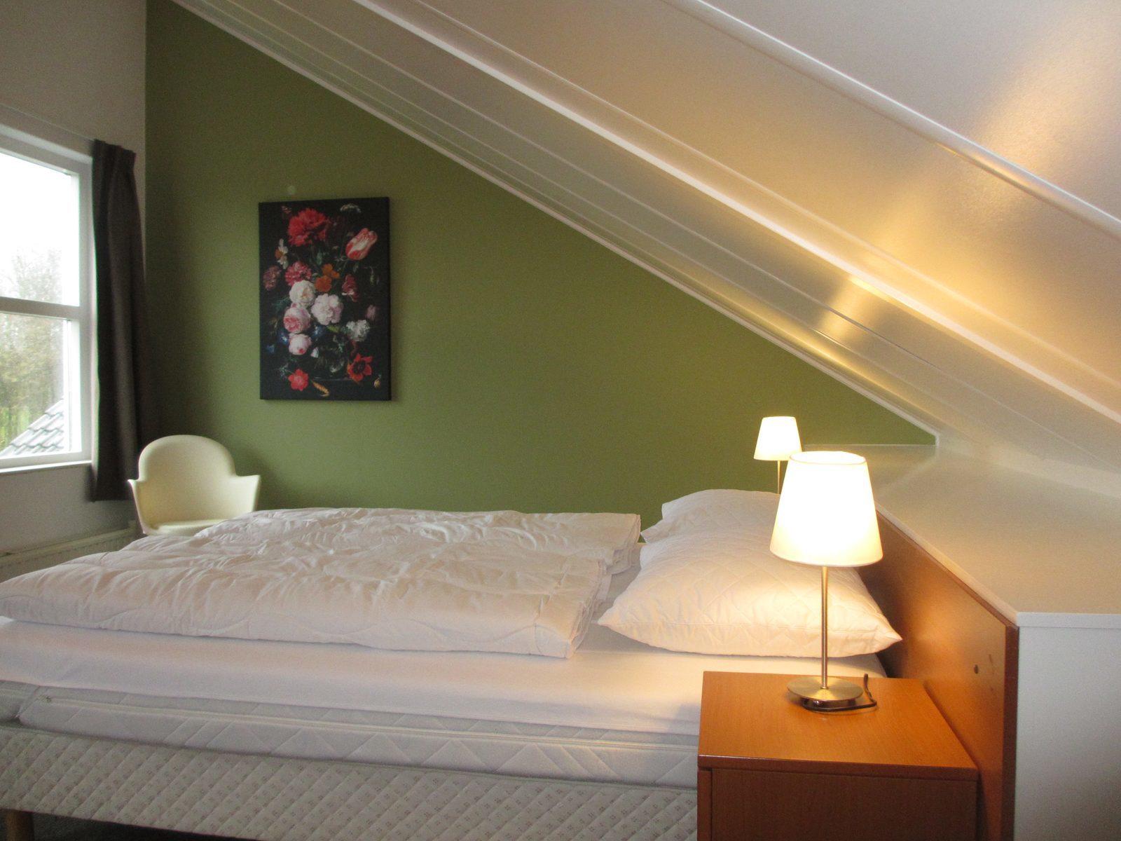 Vakantiepark Park Wijde Aa, slaapkamer Type Polder 4 Comfort