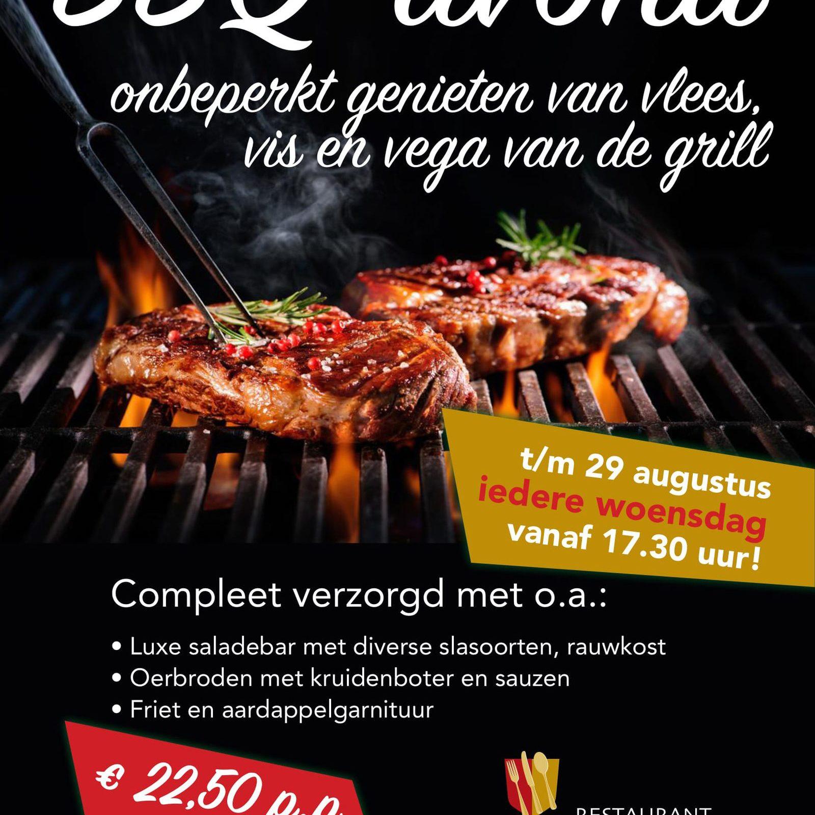 BBQ-avond bij restaurant De Hazelaer
