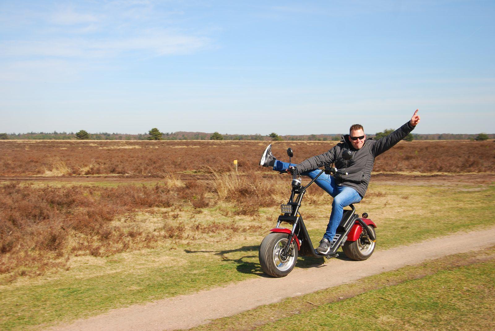 Verken de Veluwe op een stoere E-chopper!
