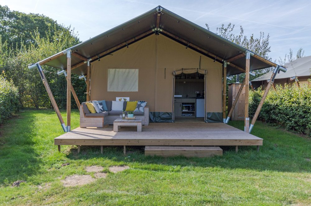 Glamping @EuroParcs Camping en Jachthaven Uitdam