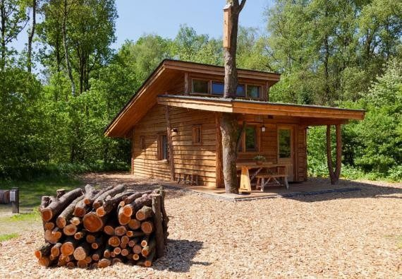 EuroParcs Resort De Wije Werelt accommodation Nature monuments Wander hut
