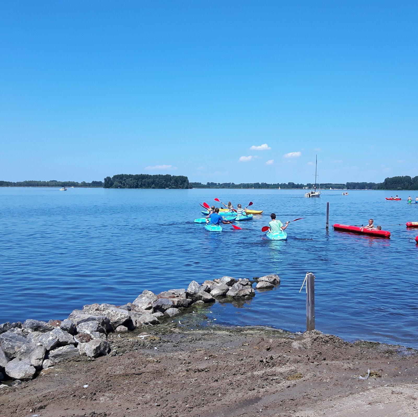 Vakantiepark aan het water