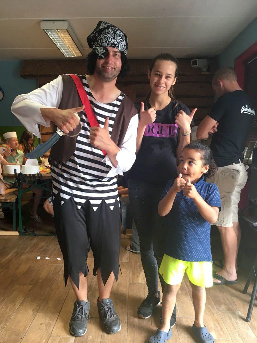 Piratendag op De Boshoek met kapitein zwarthaar