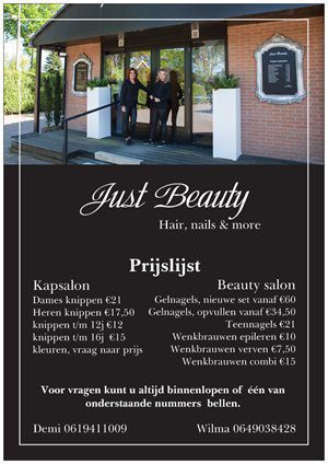 Beautysalon en nagelstudio op Recreatiepark De Boshoek in Voorthuizen