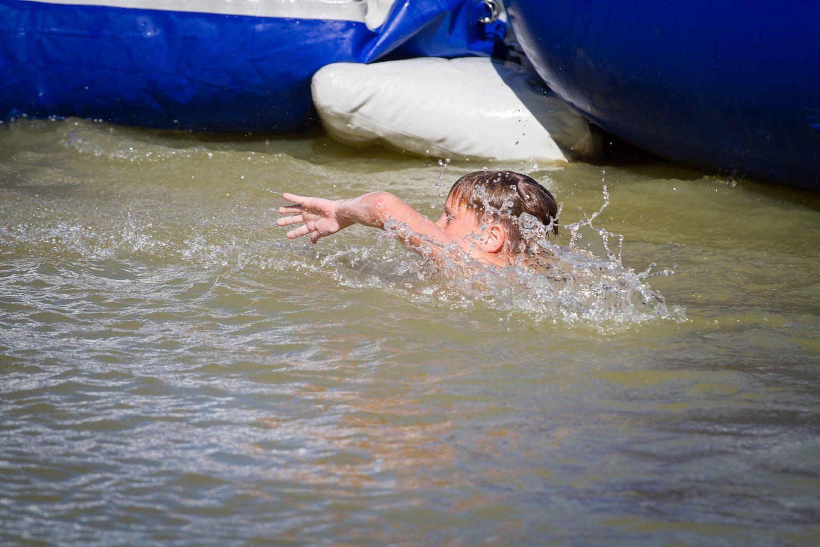 Zwemmen op Vakantiepark de Witte Berg