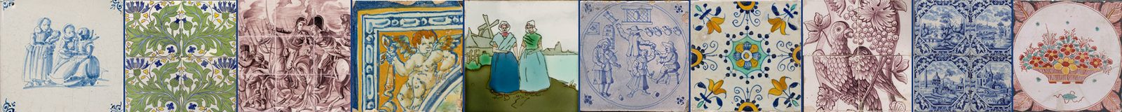 Dutch Tile Museum collection in Otterlo