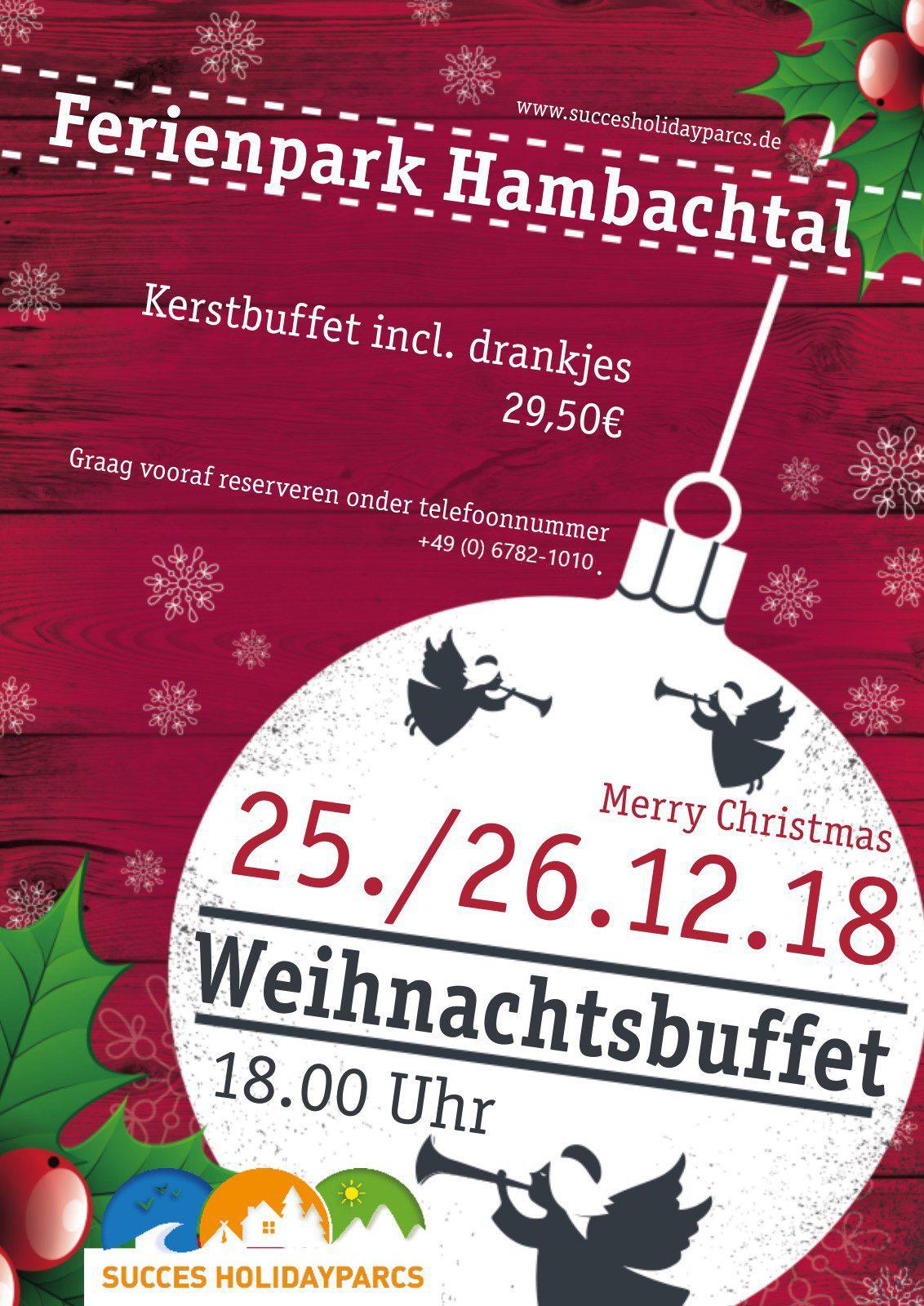 Kerstbuffet Hambachtal