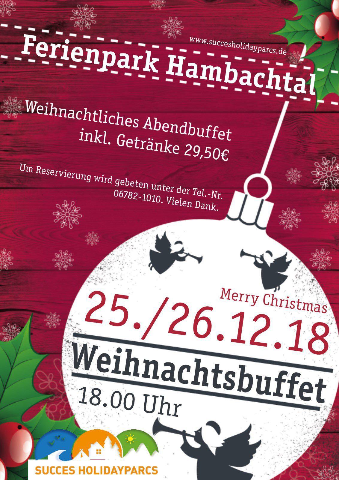 Weihnachtsbuffet Hambachtal