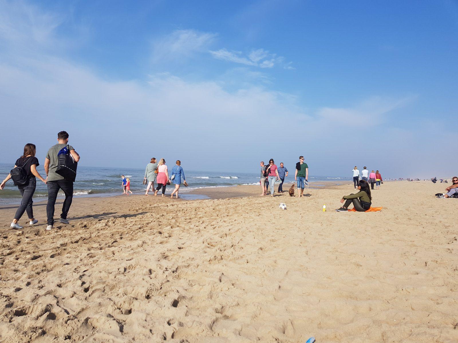 Lekker genieten van het strand en de zee