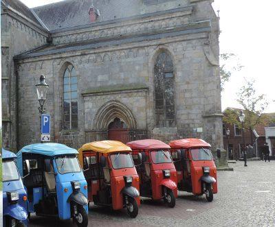 Solex en tuktuk rijden