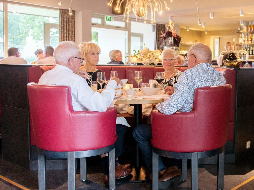 Tijd voor elkaar tijdens Wine & Dine bij restaurant De Hazelaer