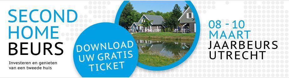 Bezoek ons op de Second Home Beurs om uw tweede huis te realiseren!