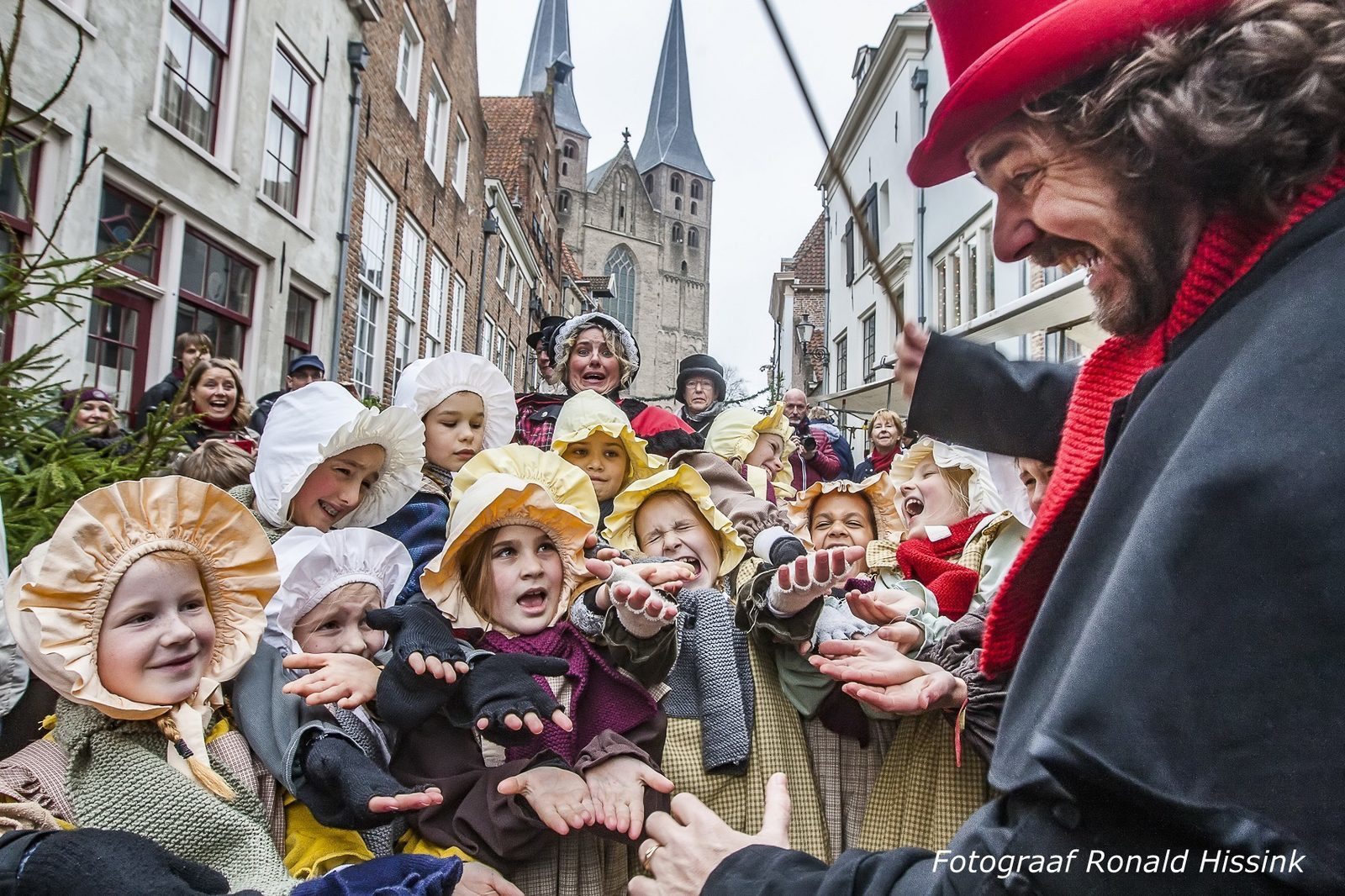 Dickensfestijn in Deventer, jaarlijkse traditie met de kerstmarkt