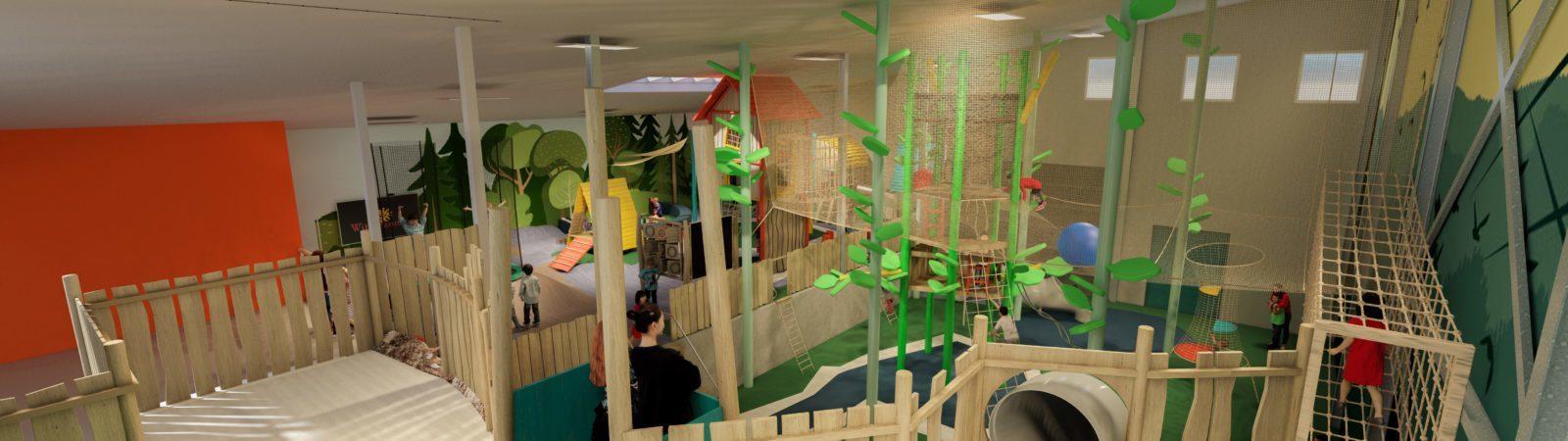 Nieuw: indoor speeltuin en bowling