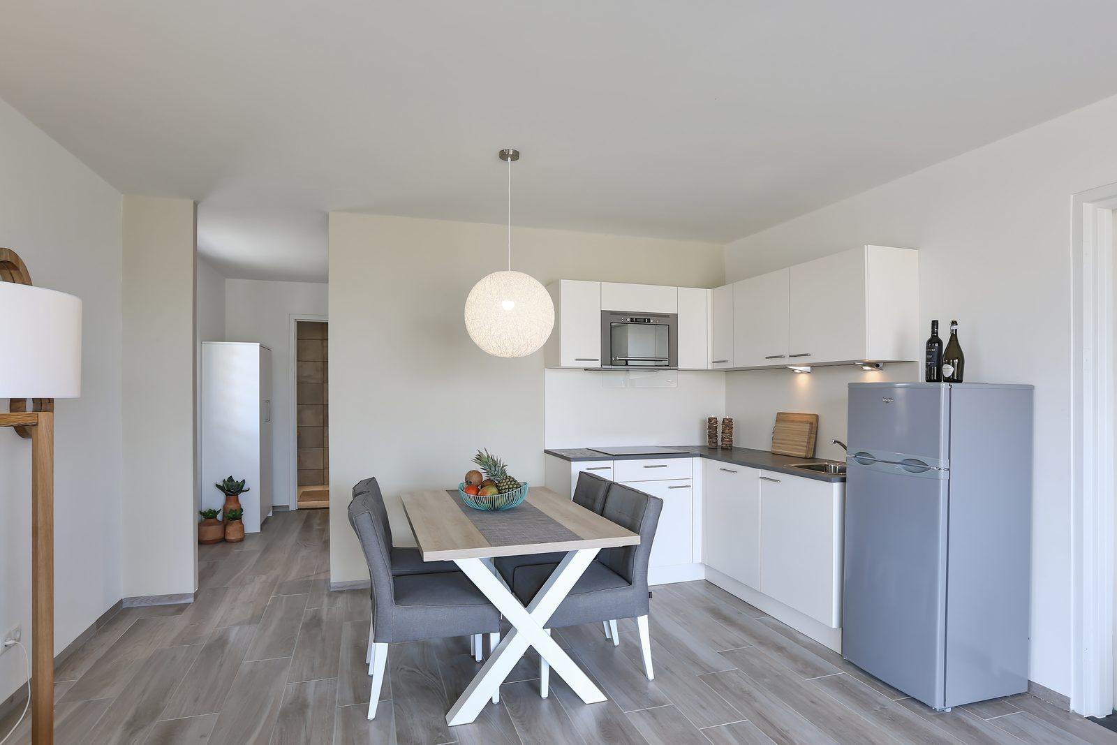 De appartementen van Resort Bonaire beschikken over veel ruimte. Deze appartementen zijn geschikt voor 4 tot 6 personen.
