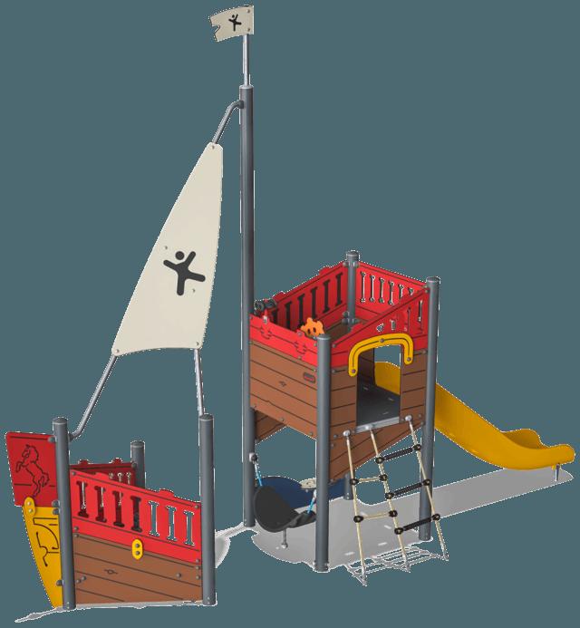 Speeltoestel op Vakantiepark 't Rheezerwold