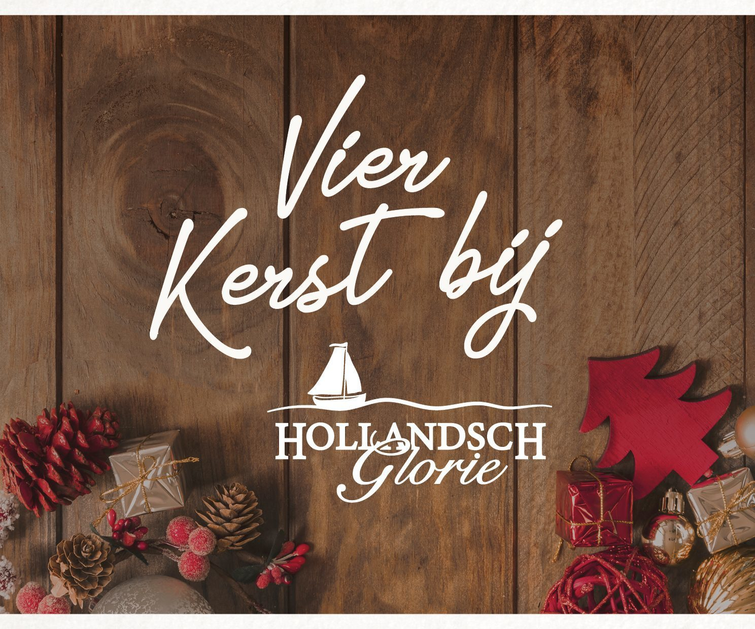 Celebrate Christmas at Hollandsch Glorie!