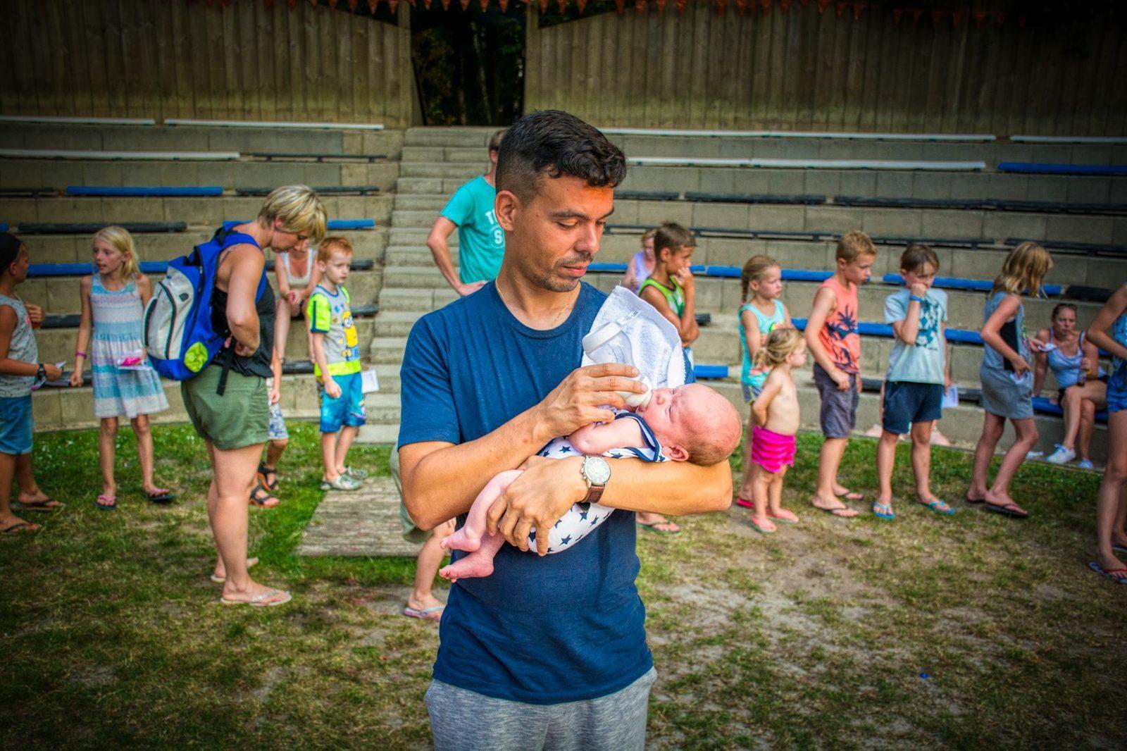 Kamperen met een baby; goed voorbereid, geen probleem