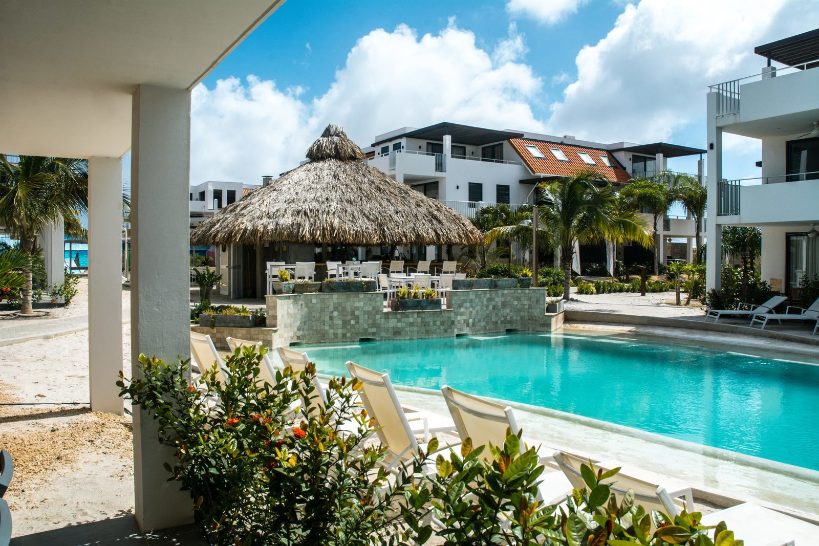 Looking for a resort on Bonaire? Resort Bonaire offers a beautiful swimming pool and luxurious apartments.