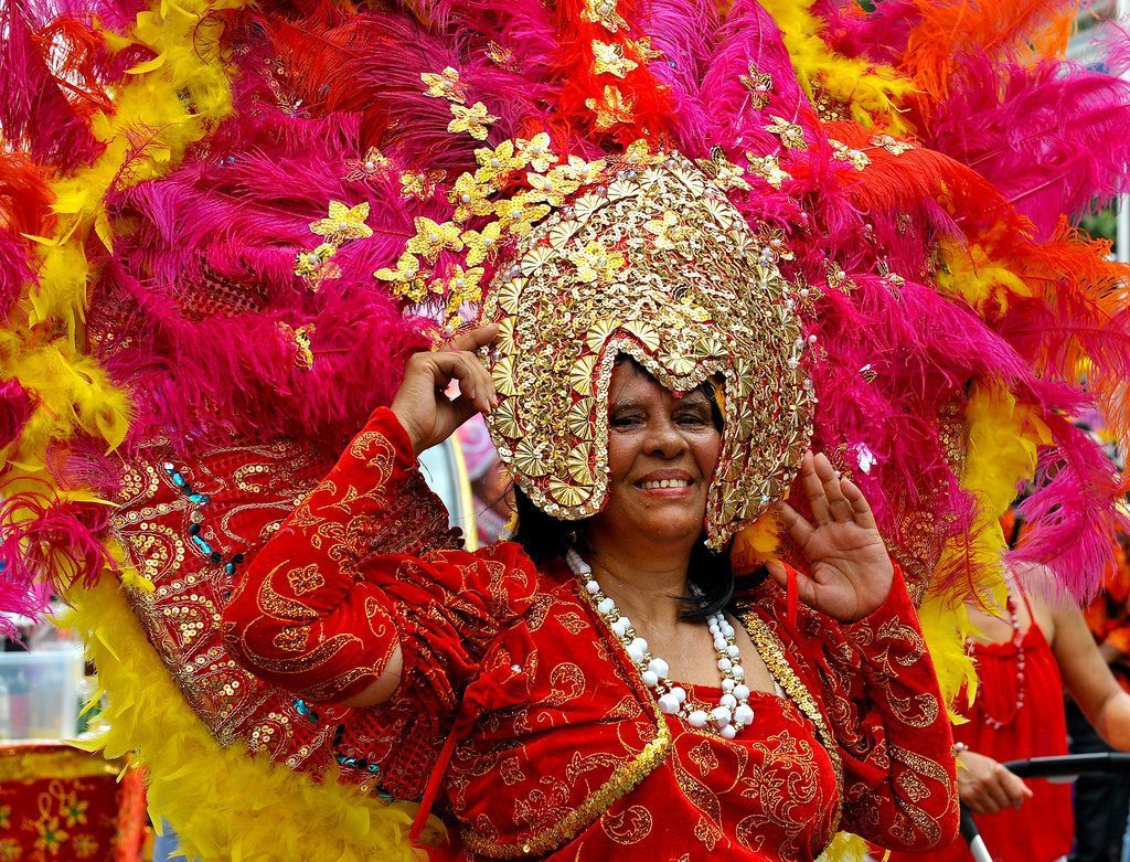 Großer Karnevalsumzug in Rincon
