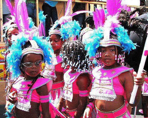 La parade de carnaval des enfants à Rincon en 2019