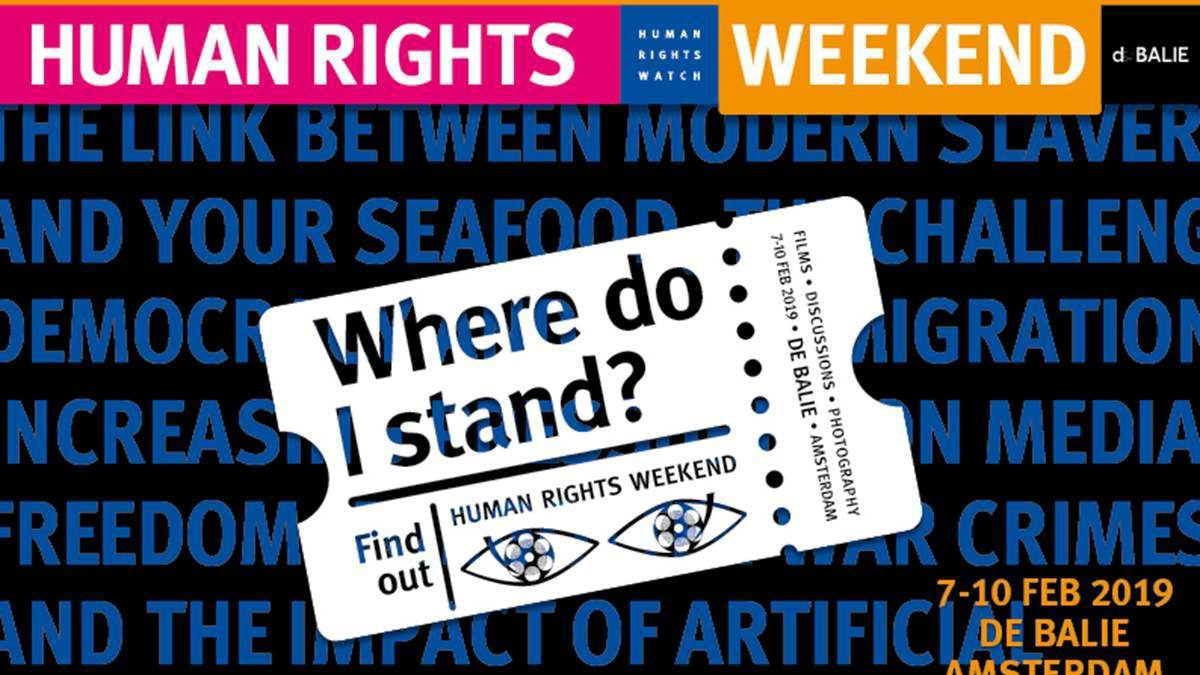 Human Rights Weekend 2019