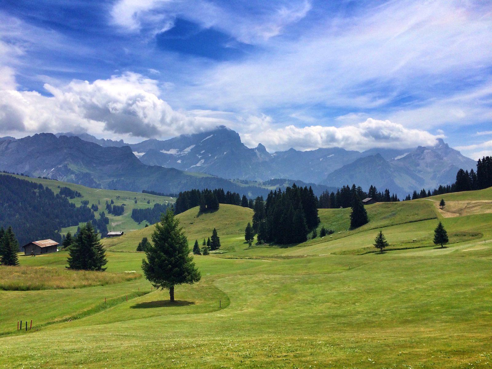 Golfing at golf club Gams-Werdenberg, -Bad Ragaz, -Heidiland, -Dormat/Ems or Lenzerheideg, from your luxury holiday home on Resort Walensee Switzerland