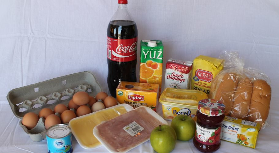 Curaçao boodschappenpakket bahia