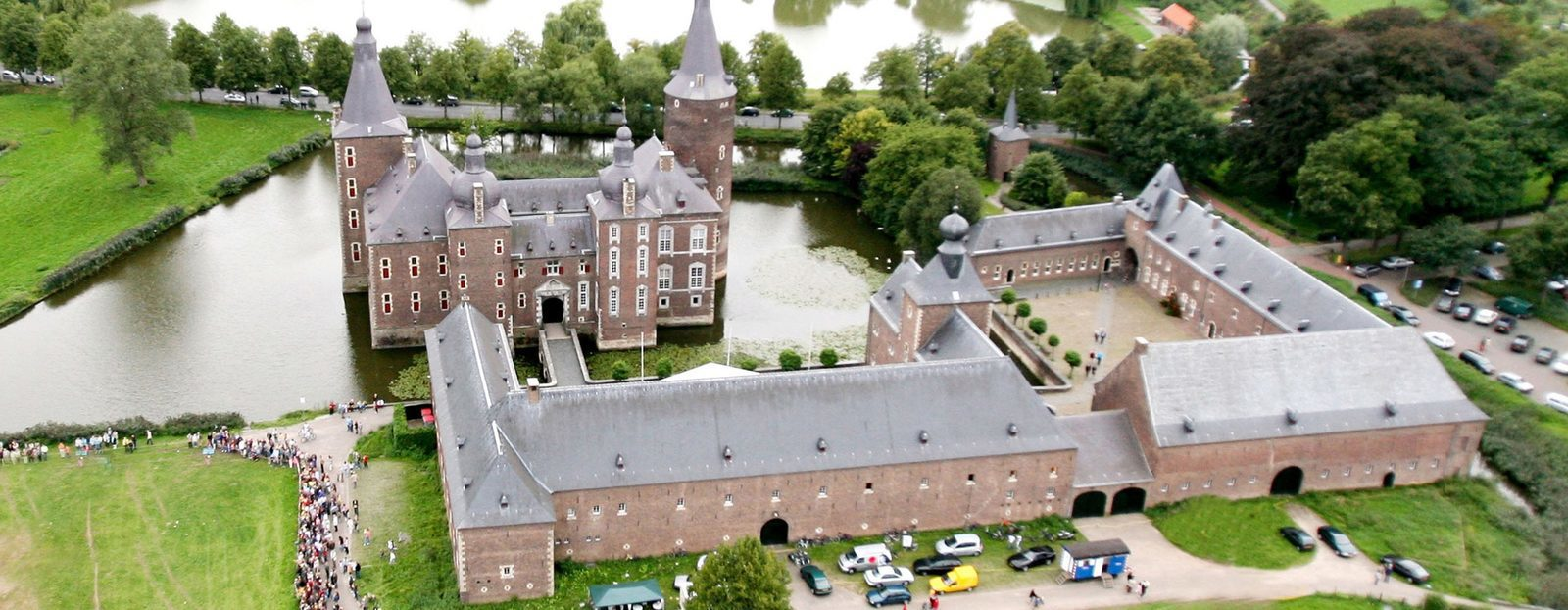 The castle of Hoensbroek