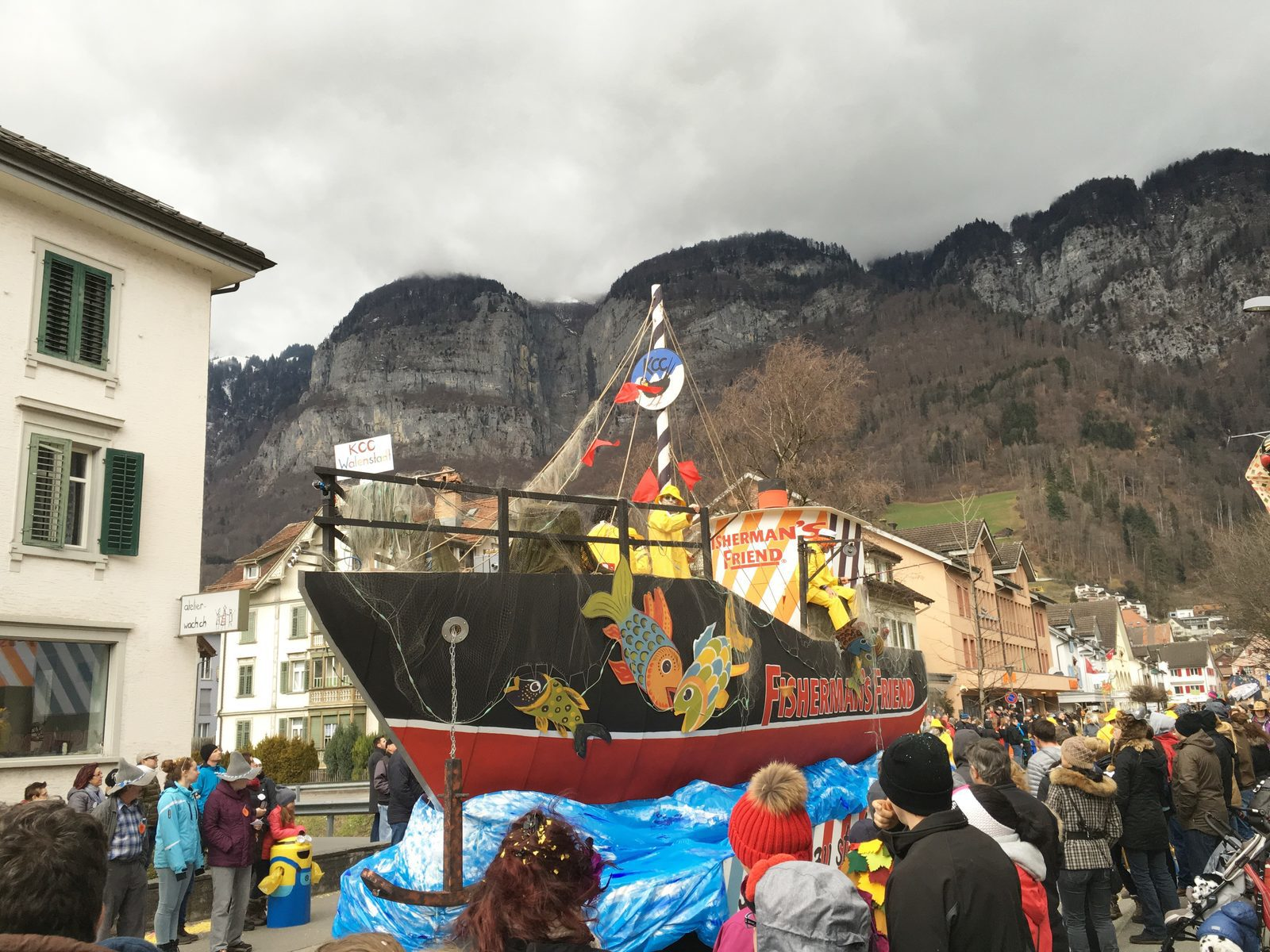 Events around the Walensee