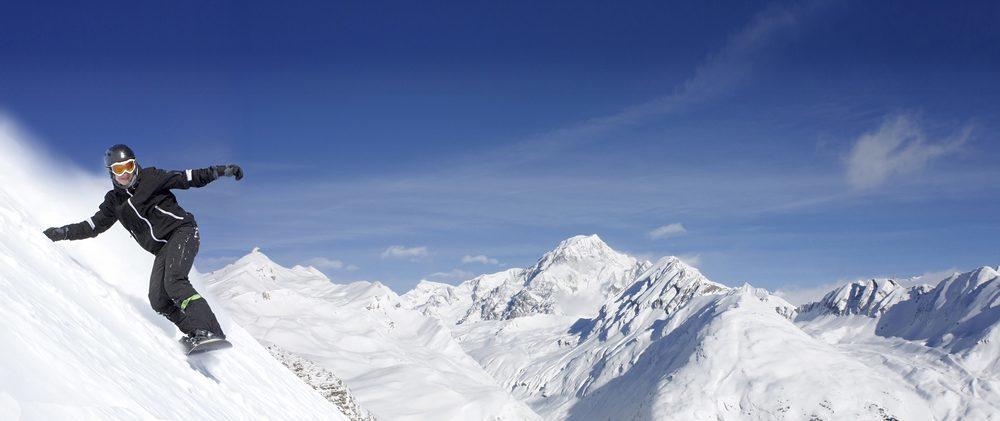 Wintersporten, boek voordelig een vakantie woning of appartement bij Walensee Apartments om te snowboarden op de Flumserberg Zwitserland