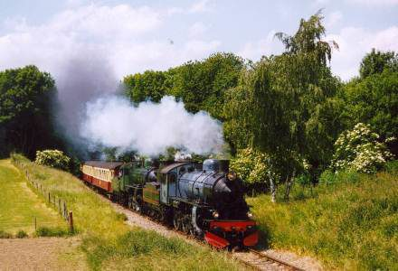 The steam engined train company of southern Limburg.