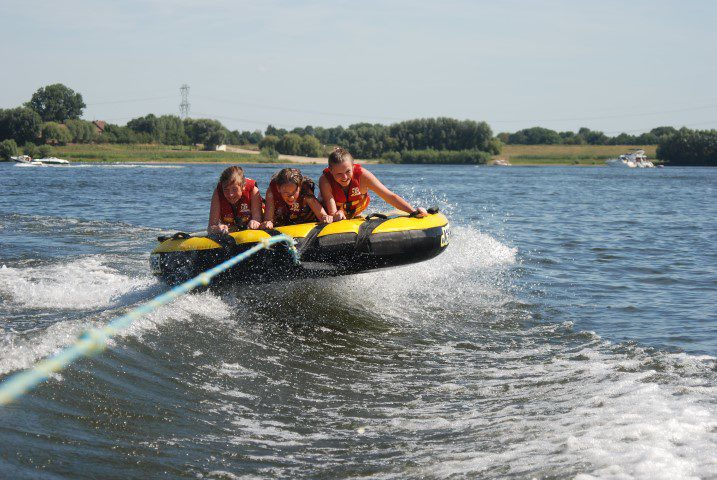 """Sporta"" watersports-beachclub in the town of Maaseik (Belgium)"