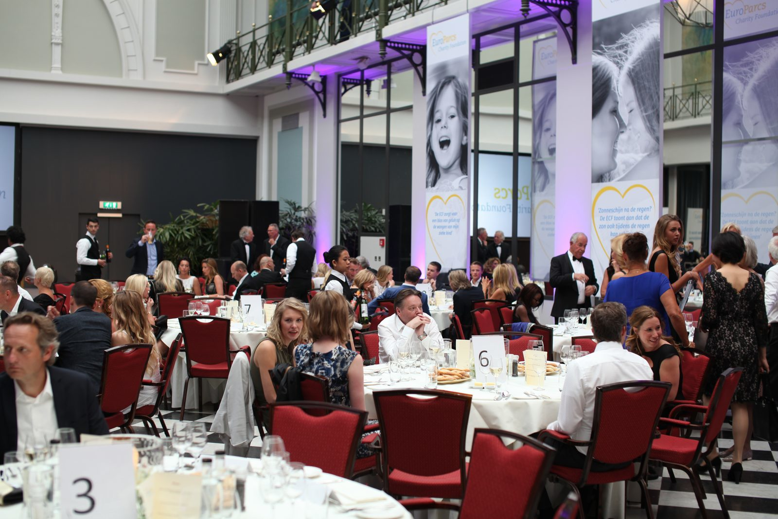 Watch the footage of the ECF charity dinner 2016