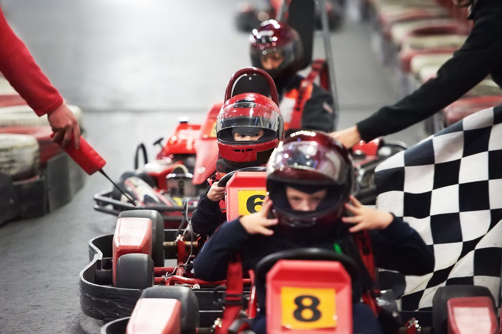 Go carting at the city of Dordrecht!